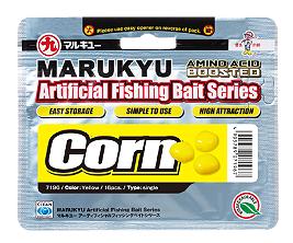 2 x Marukyu Credence Corn Red /& White Triple Artificial Fishing Baits ~ New